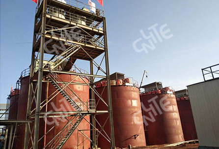 6000t/d Gold CIP Plant in Guinea