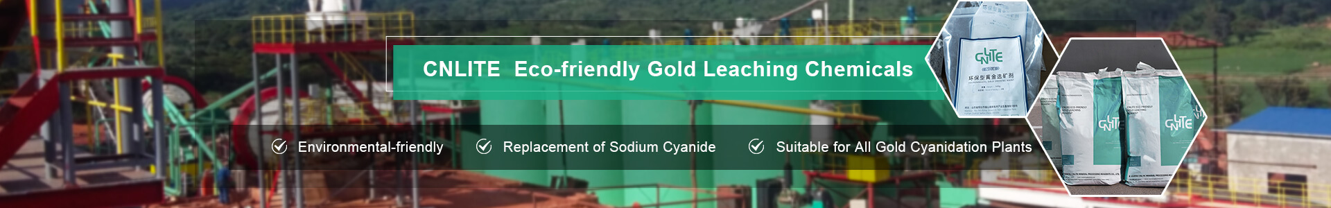 CNLITE Eco-friendly Gold Leaching Chemicals