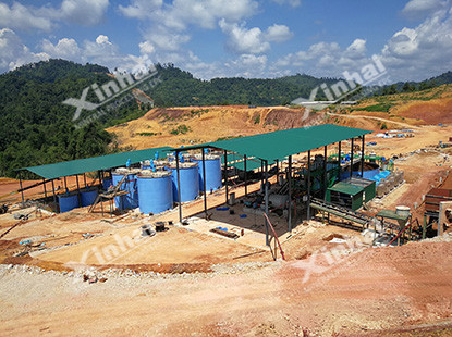 Gold CIL process