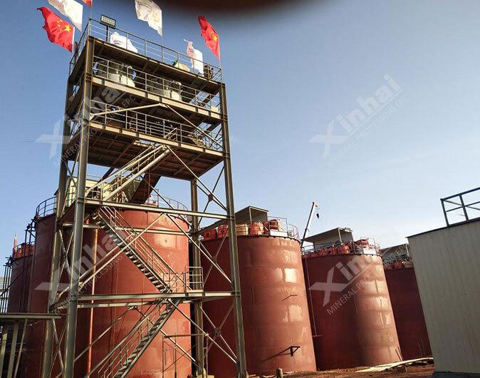 Guinea 6,000t/d Gold CIP Plant