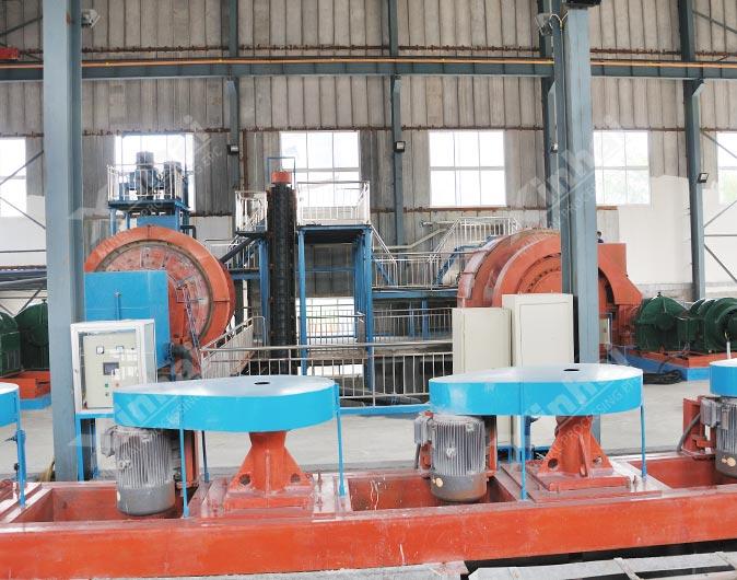 Heilongjiang 1,000t/d Gold Flotation Plant