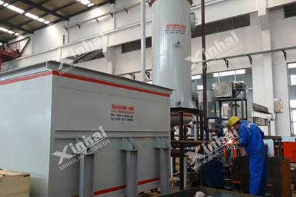 Zinc Powder Displacement Device