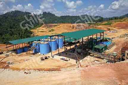 Gold CIP(carbon in pulp) Process