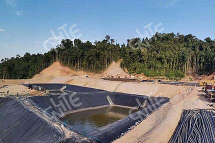 Gold Pool Leaching Process