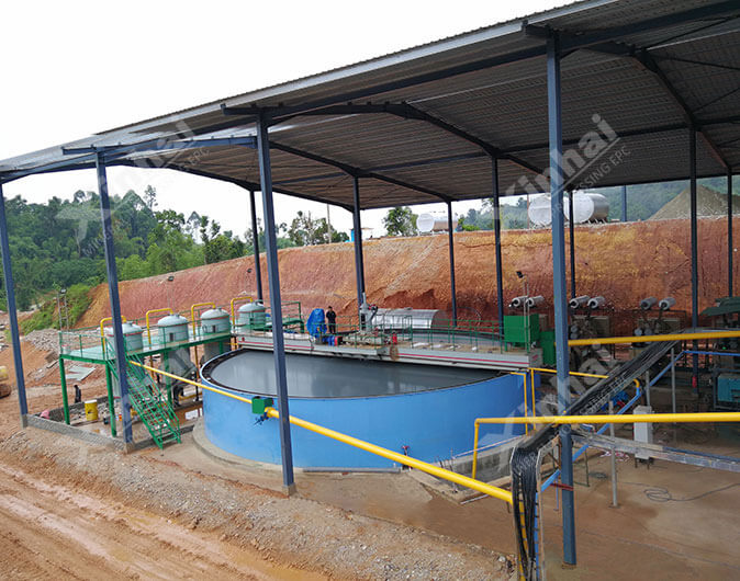 Malaysia 700t/d Gold CIL Plant