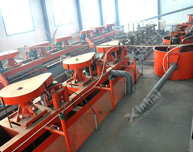 Mexico 1,500tpd multi-metal Flotation Plant