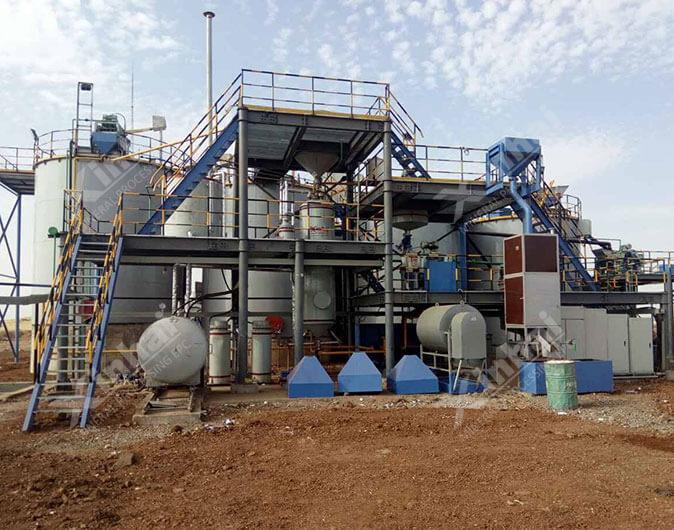 Sudan 300t/d Gold CIL Plant