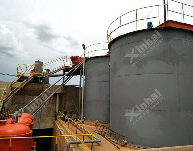 Tanzania 600t/d Gold CIP Plant