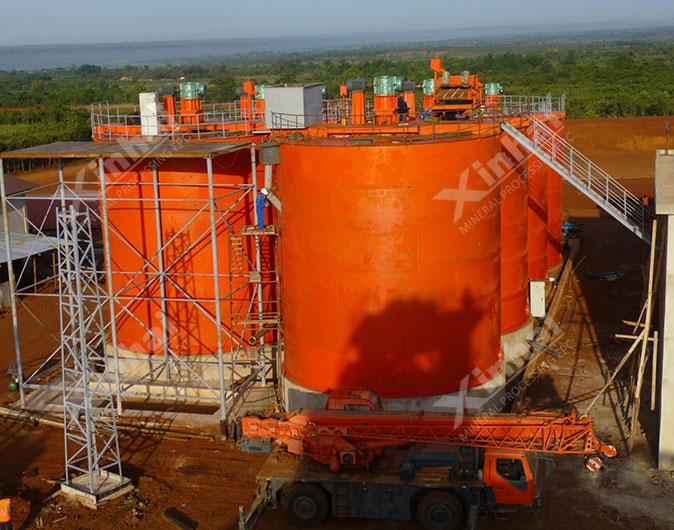 Tanzania 1,200t/d Gold CIP Plant
