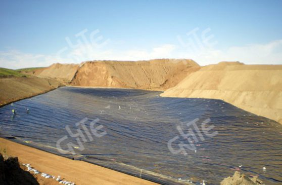 Gold Mine Pool Leaching Process