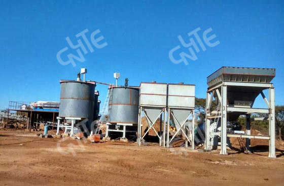 300TPD Gold All-sliming Cyanidation CIP Project in Ghana