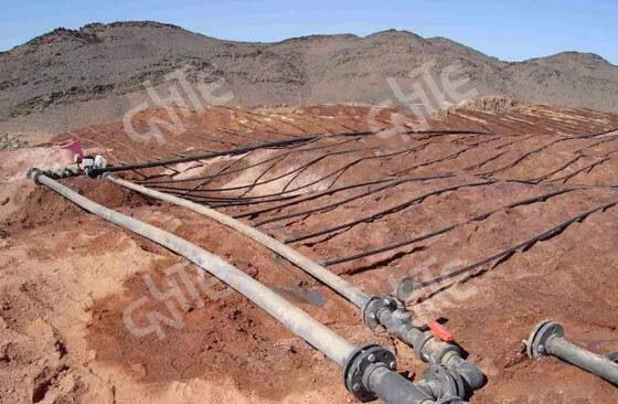 Gold Mine Heap Leaching Project