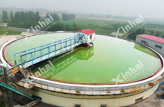 thickener used for dewatering gold sand