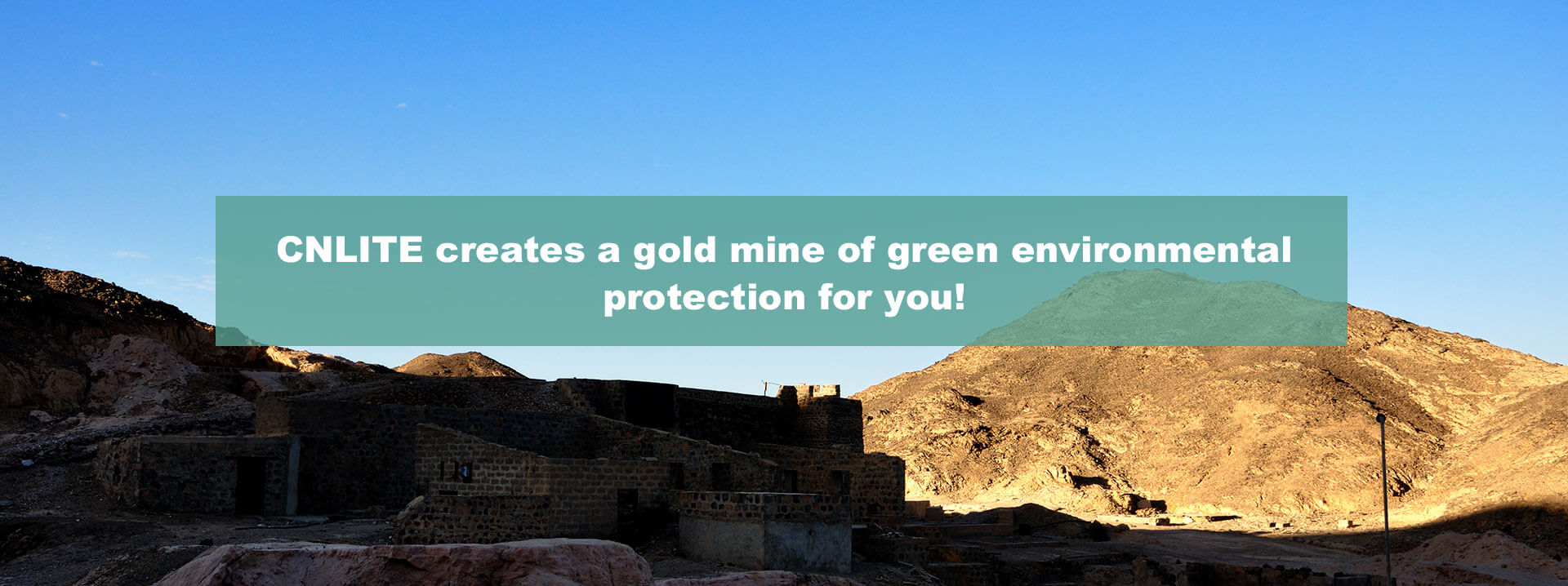 CNLITE applies in green gold mine